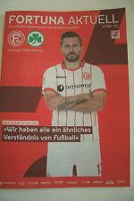 FORTUNA AKTUELL Stadionmagazin Nr 890 / 2018 Fortuna Düsseldorf : Greuther Fürth