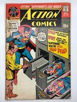 ACTION COMICS #399 1971 DC BRONZE COMIC SUPERMAN YOU'RE DEAD!