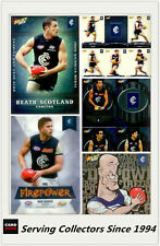 AFL Trading Card Master Team Collection-CARLTON-2013 Select AFL Champions