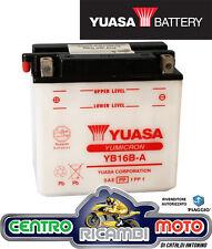 BATTERIA YUASA YB16B-A 12 V 16 AH SUZUKI VS GL Intruder (VS52A) / VX 800
