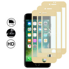 3 Protection Film Screen Tempered Glass Curved Edge YELLOW Apple iPhone 7 Plus