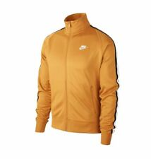 Nike Men's Sportswear Track Jacket Color Gold Size XXL NEW with tag