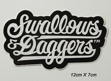 Aufkleber Sticker Swallows & Daggers (S098)