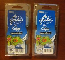 2 Glade Wax Melts, Be Edgy, Spring Collection, Coconut Water & Freesia,12 melts