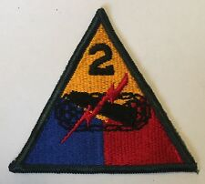 US Army 2nd Armored Division patch FURY, ELVIS PRESLEY Armoured Armor Armour