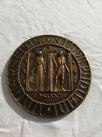 medaglia premio università padova sigillo 1972 Strazzabosco Granero 7.5 cm 191gr