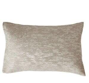 DONNA KARAN HOME Alloy Collection STANDARD QUEEN Pillow Sham (1) Taupe