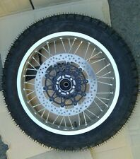 """Front wheel 19"""" with the rotor disc brake and tire assembly URAL.(NEW)"""