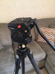 Manfrotto 19XPROB with 501HDV Fluid head