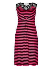Per Una Sleeveless Striped Casual Dresses for Women