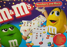 M & M's Numbers &  More Activity Game pre k to grade 2 Number recognition Math