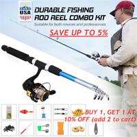 Reel Float Spinning Reel Set Combo Pen Pole Fishing Rod Reel Combo Full Kit