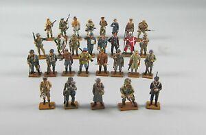 Huge Set of 29 DelPrado Metal Military Miniatures  UK, German, Russian, USA,++