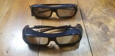 Set of 2 Genuine Sony HU07S9P 3D Glasses