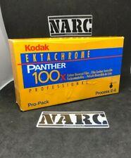 5x Kodak Ektachrome Panther 100x  Professional 120 film expired film