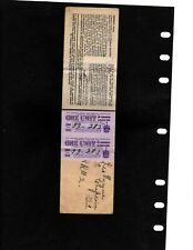 CANADA REVENUE GASOLINE LICENCE AND RATION COUPON BOOK (ITEM 3338)