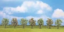 Arbres de Noch H0, TT, N (25092): 7 Les arbres fruitiers, fleurs, 80 mm haut