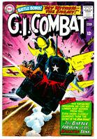 G. I. COMBAT #114 in FN condition 1965 DC WAR comic Origin of THE HAUNTED TANK
