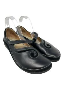 Naot Women Shoes Matai Size EUR 41/US 10 Black Mary Jane Flat~Slip On