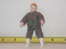 Caco Doll Boy Porcelain Head Germany People Male Dollhouse Miniature RETIRED