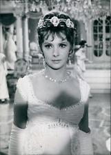 "Actrice Gina Lollobrigida dans ""Venus Impériale"", 1962, vintage silver print vin"