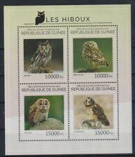 E405. Guinea - MNH - 2014 - Nature - Animals - Birds - Owls