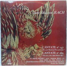 ERATO LED 3085 BACH - Cantate No. 147 & 160 SüdwestFunk Baden-Baden / WERNER