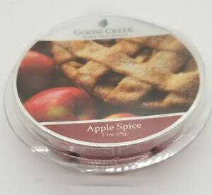 Goose Creek Candle - Wax Cube Melts APPLE SPICE SCENT 2.1 oz NEW PACK