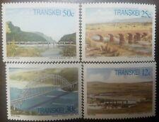 O) 1985 Transkei, Bridges - Mitchell-White Kei-Umzimvubu-Tsitsa, Set Mnh