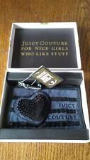 Juicy Couture Womens Ladies Sequin Heart Wallet Key Coin Purse - NEW WITH TAGS