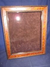 EXPOSURES Wood Shadow Box Made in ITALY~ EXCELLENT