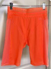 """Nwt� adidas X Ivy Park Cycling Shorts, Solar Orange (Size: Small)"
