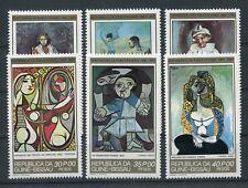 Guinea - Bissau 602/07 postfrisch / Gemälde - Picasso ....................1/3815