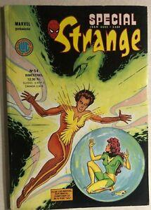 STRANGE SPECIAL #54 French color Marvel Comic (1988) X-Men Spidey King Kong VG+