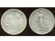 2 FRANCS  semeuse 1898  argent