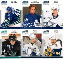 2009-10 Upper Deck Victory ROOKIE 6 card lot cards #304,314,327,330,334,339.