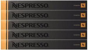 50 ORIGINAL NESPRESSO COFFEE CAPSULES PODS - LIVANTO (Intensity: 6)