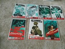 The Punisher #3- #8, #17 (Lot of 7 comic books) - Marvel comic book