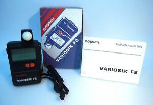 Gossen Variosix F2 Digital Light Exposure Meter For Flash&ambient/Tested –K103