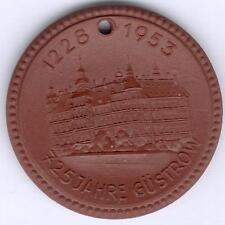 DDR-Medaille, Güstrow Porzelan 725 Jahre, vz/st