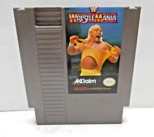 WWF WRESTLE MANIA NINTENDO NES VIDEO GAME CARTRIDGE, TESTED AND WORKS