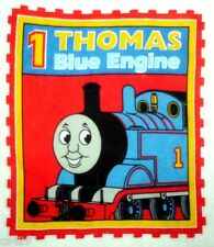 "11"" THOMAS THE TRAIN TANK  FABRIC WALL SAFE FABRIC DECAL CHARACTER CUT OUT"