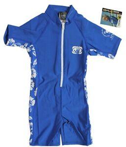 Body Glove Lycra Toddler M or L 8oz Pro 2 Springsuit Blue Wetsuit Rashguard