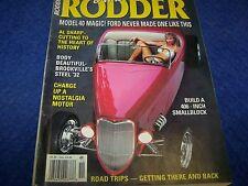 American Rodder  Magazine, Hot Rod,Rat Rod.Back Issue Nov. 1997
