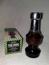 Vintage Avon The Rook Bottle Chess Decanter Oland After Shave 3oz Full Bottle