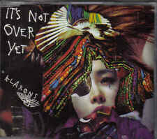 Klaxons-Its Not Over Yet Promo cd single