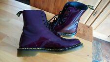 Dr. Martens Pascal Spectra Patent Purple - Größe 43,5 (eher 43) / 9 - Lackleder