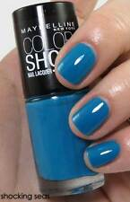 NEW! Maybelline New York Color Nail Enamel Polish Lacquer in SHOCKING SEAS