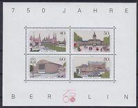 Berlin Block 8 **, 750 Jahre Berlin 1987, postfrisch, MNH