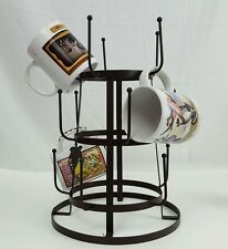 Mug Cup Glasses Bottle Drying Rack Dry Stand Display Holder Counter Tower NEW